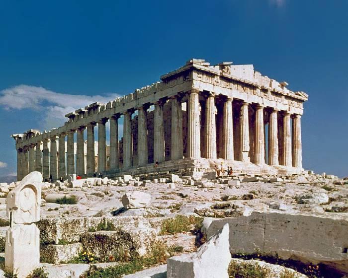 希臘債務危機  衛城博物館開放遊客刷卡