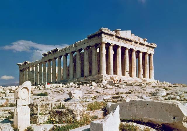 帕德嫩神殿。圖/取自Wikipedia。