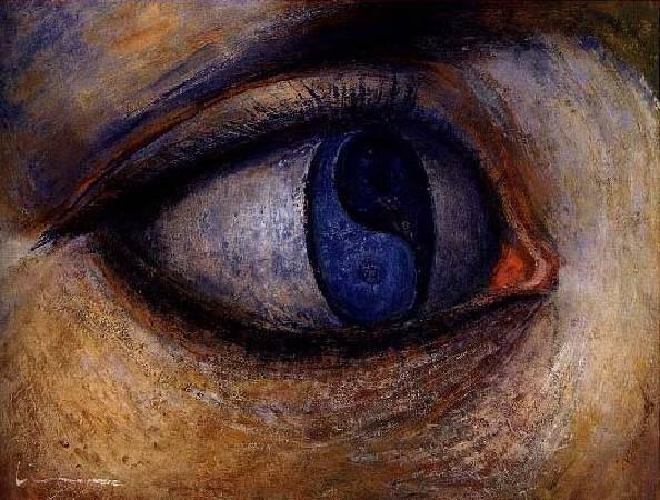 林克恭,《眼》,1980。