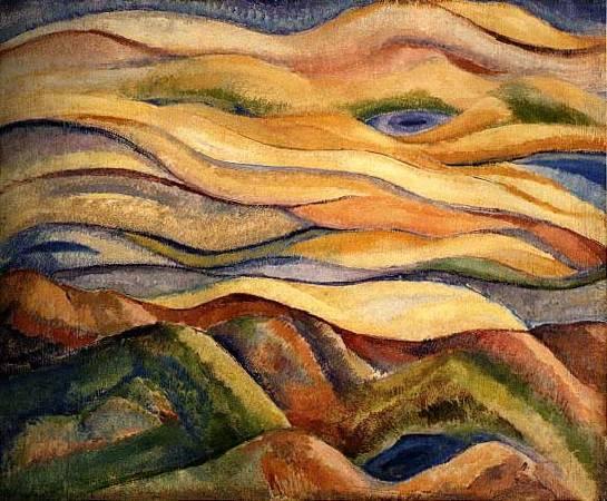 林克恭,《湖光山色》,1962。