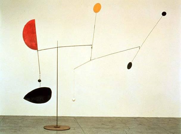 Alexander Calder, 《Steel Fish》,1938。圖/取自Wikiart。