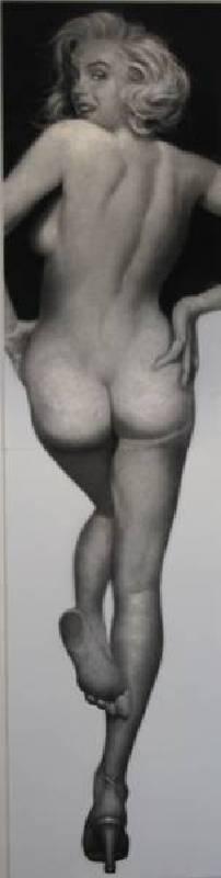 姜亨九,《夢露》,2014。
