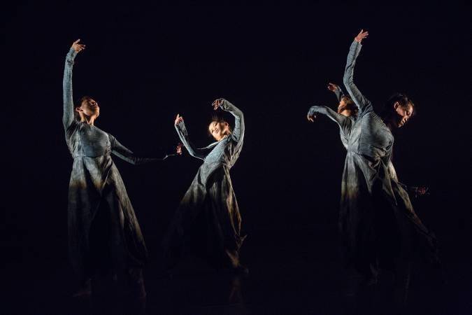 《長河》劇照。圖/林文中舞團提供。
