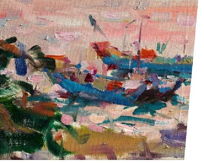 名山藝術【地平線的風景】翁明哲油畫創作個展