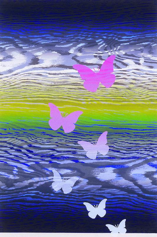 林雪卿 《逍遙遊 I》 2006 55× 37 公分 版畫