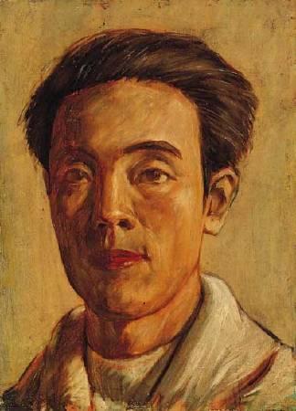 何德來,《自畫像》,1928年。