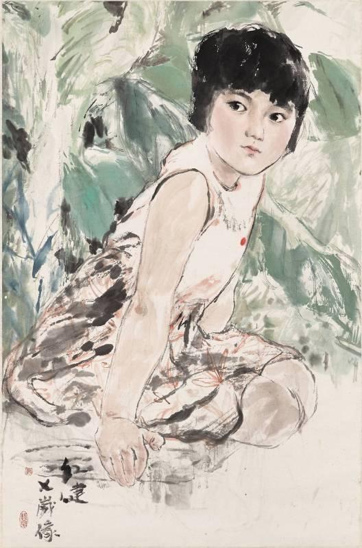 劉振夏,《紅建》,1978。