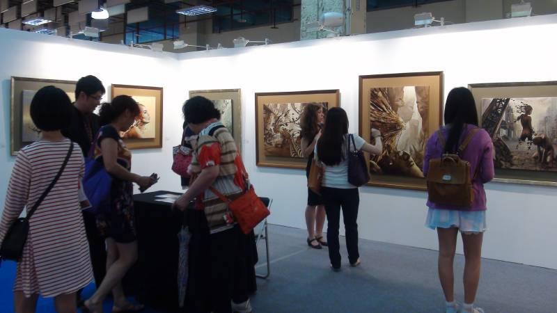 「2016國際藝術家大獎賽」首獎一名可獲台北新藝術博覽會兩個展位。