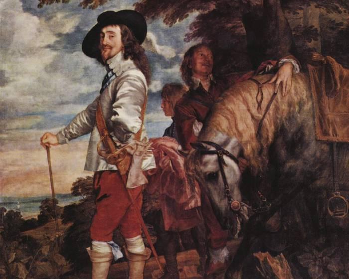 他影響英國肖像200年  首席宮廷畫家范戴克
