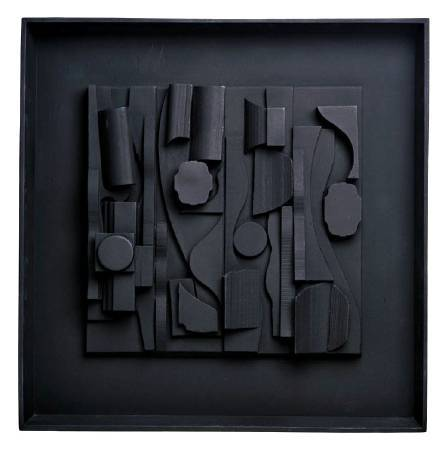 Louise Nevelson,《Symphony Three》,1974。