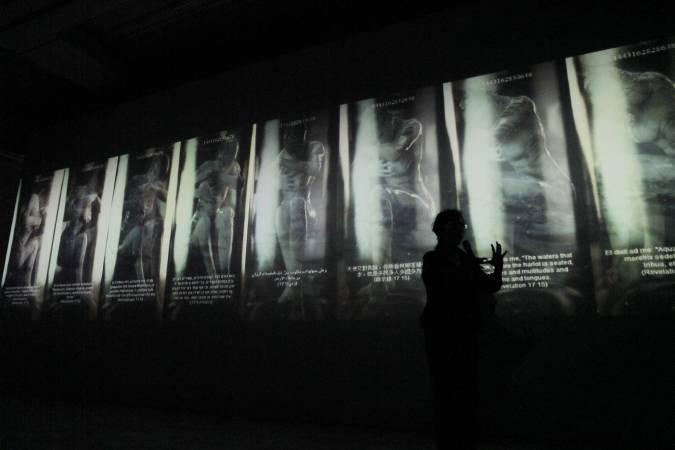 林珮淳,《夏娃克隆啟示錄》,圖/非池中藝術網攝。