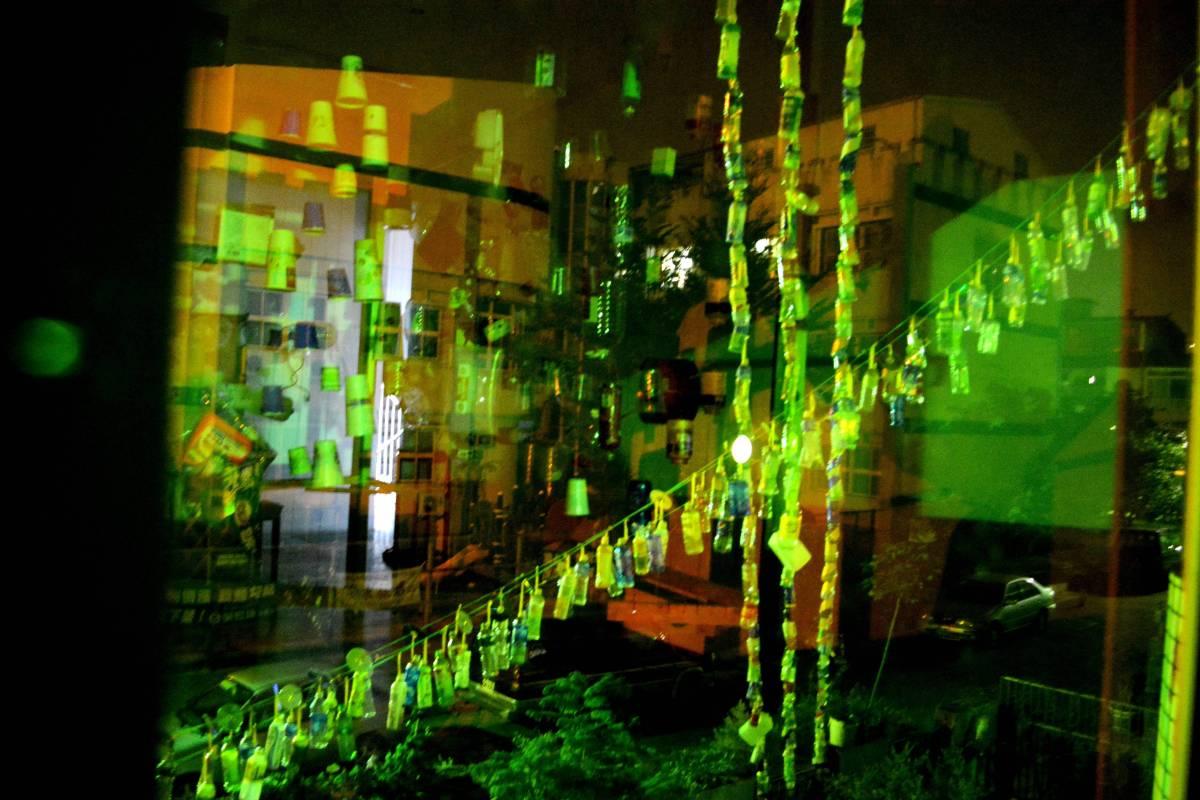 <物與聲音的裝置—我那會吶喊的作品> ,2015