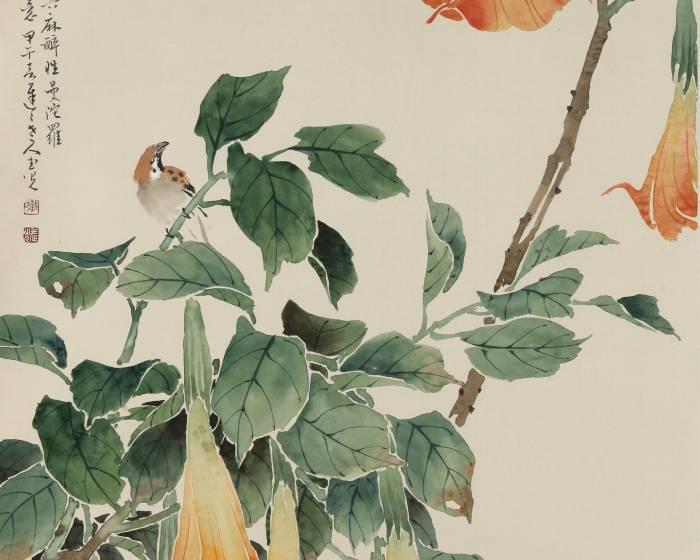 國立歷史博物館【會古通今】戴武光的水墨世界