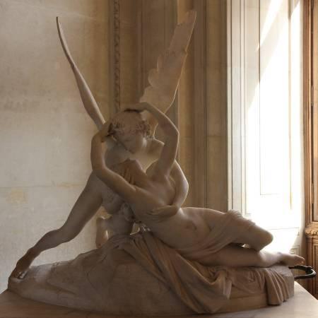 安東尼奧•卡諾瓦《塞姬接收愛之吻》。