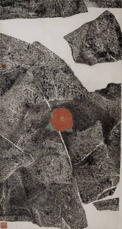 華巖(金花本)186×97.5cm 2008