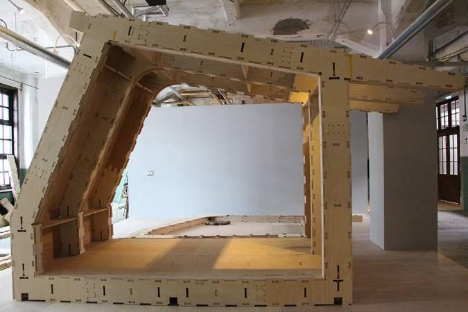 英國非營利組織WikiHouse《開放書屋》。圖/非池中藝術網攝。