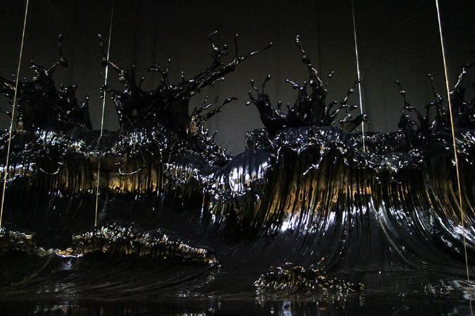 鄭路《潮騷》。圖/非池中藝術網攝。