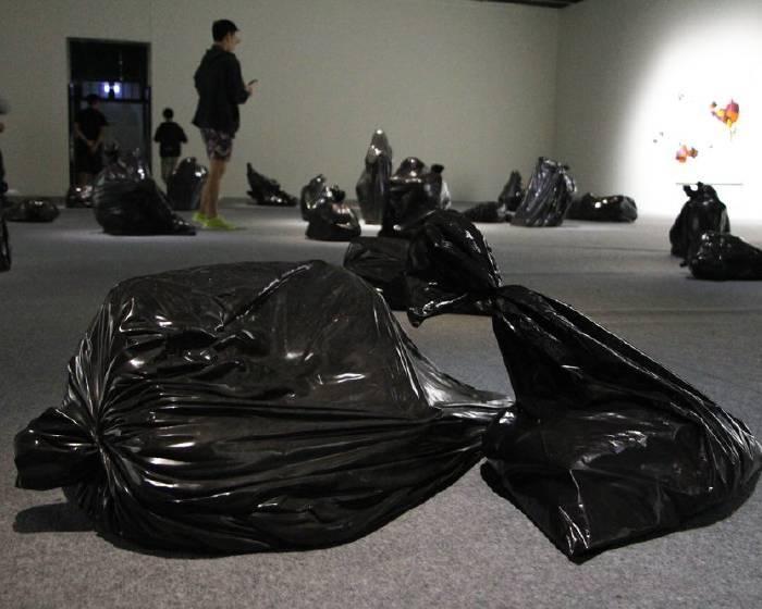 藝術品與垃圾  垃圾袋的藝術替身