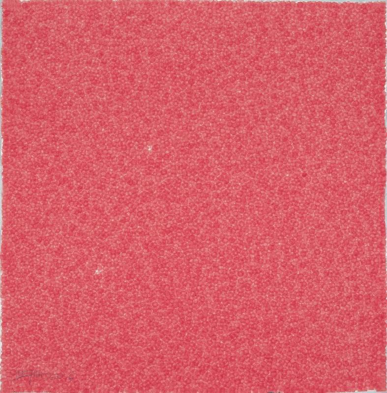 張羽, Fingerprints 2005.6-3,75×75cm,宣纸、植物質顏料,2005