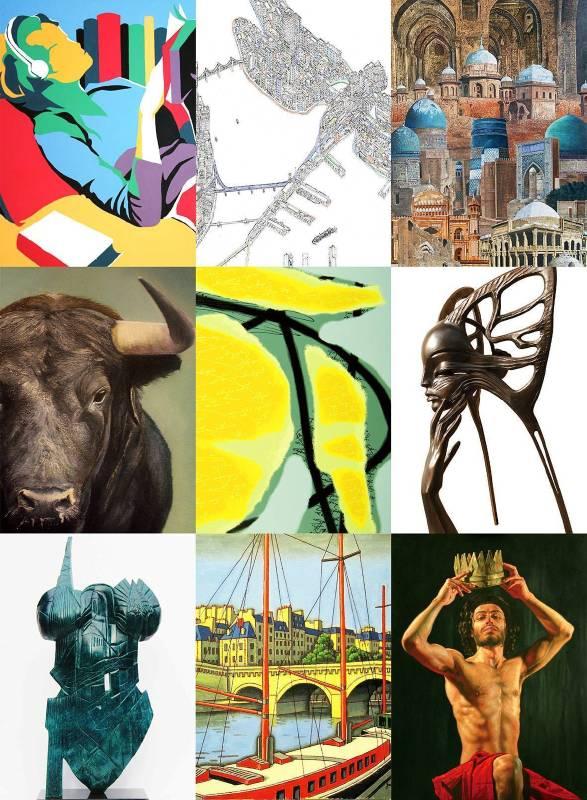 「2016國際藝術家大獎賽」入圍作品將於2016/4/22~4/25舉行的「台北新藝術博覽會」中展出。
