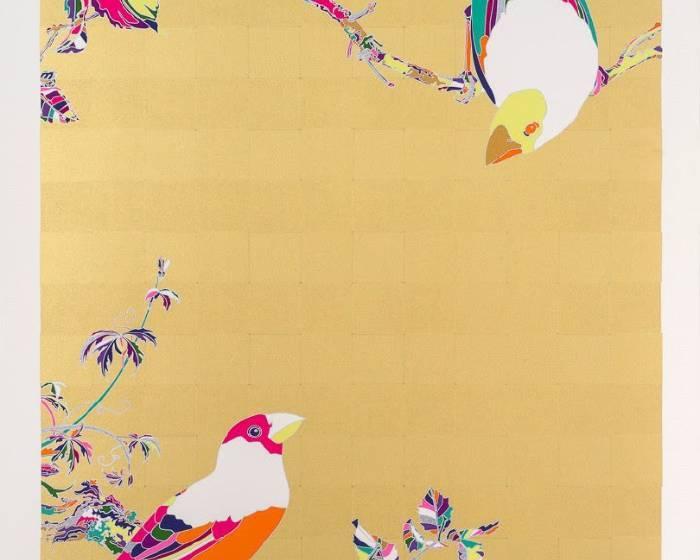 非常廟藝文空間【有印良品】藝術家與絹印作品展