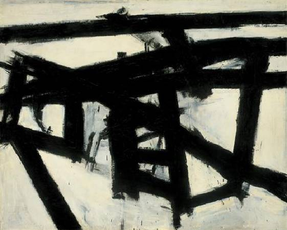 Franz Kline,《Mahoning》,1956。
