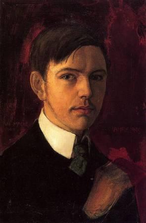 August Macke。圖/取自Wikipedia。