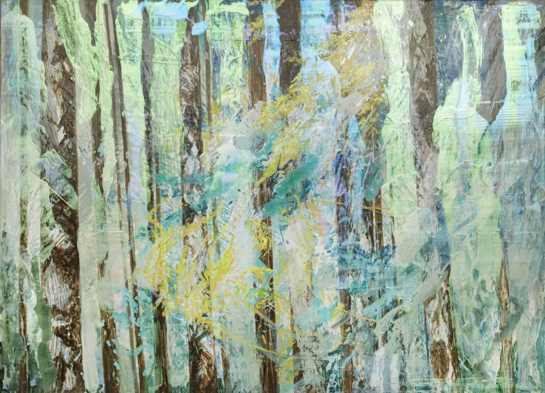 許聖泓,《森林3》,2015。