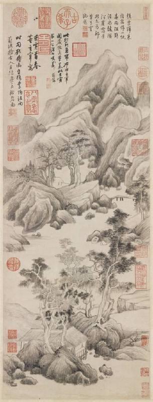 明 董其昌,〈葑涇訪古〉。