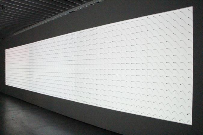 沈聖博,《pin shadow》,2012。圖/非池中藝術網攝。
