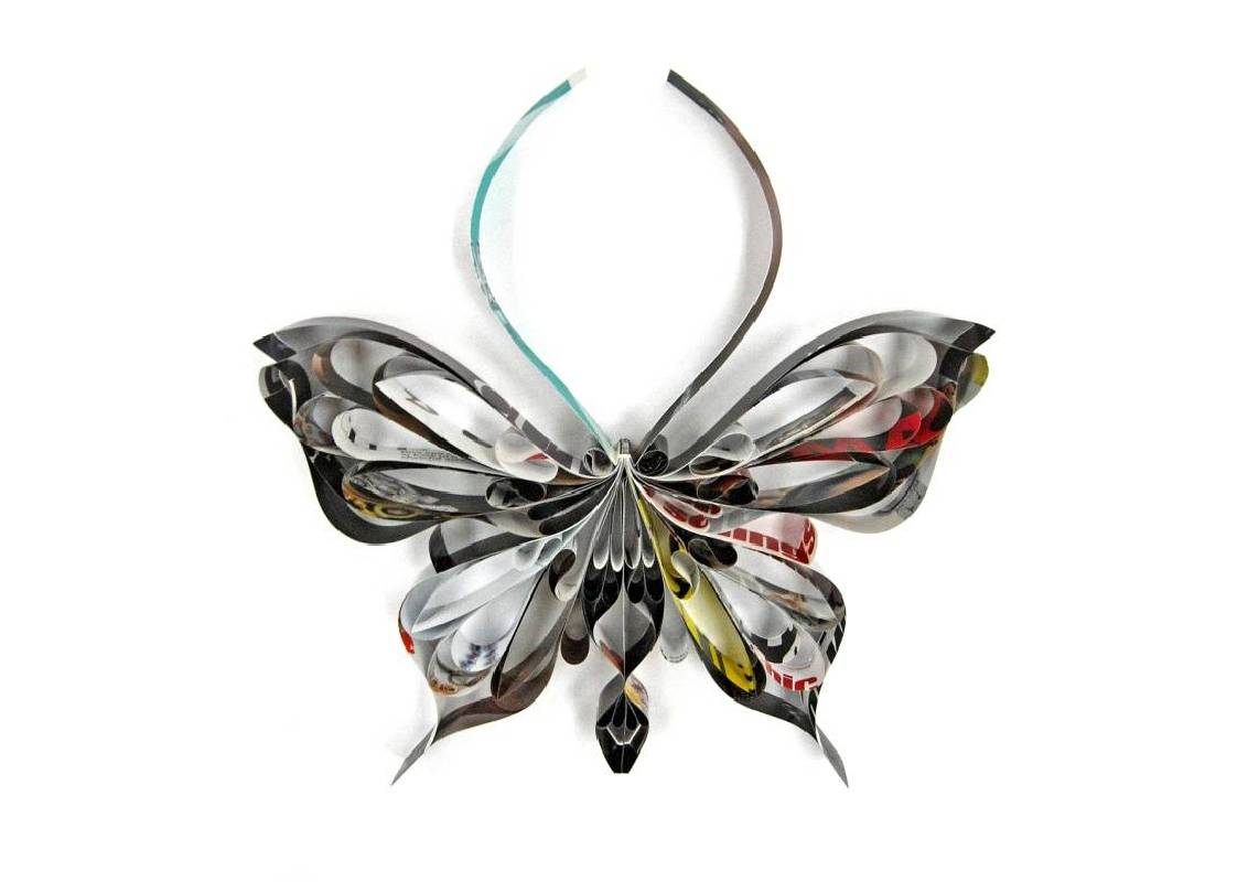 胡小萍,《再生蝶》, 2012。