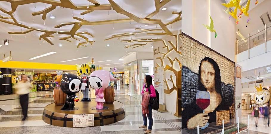 香港K11購物中心。圖/取自HOK。
