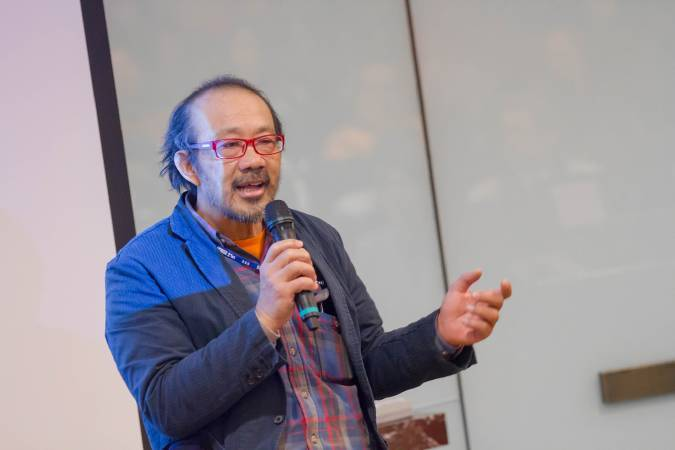 臺灣藝術大學雕塑學系系主任王國憲。