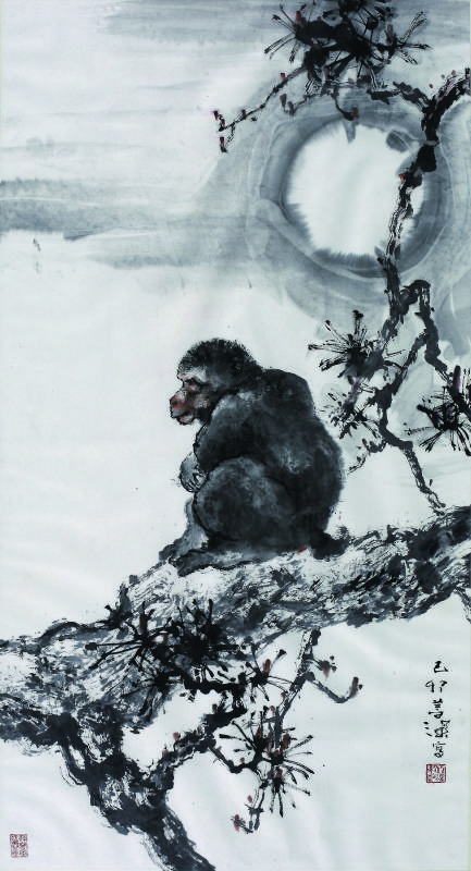 楊善深 - 畫猴