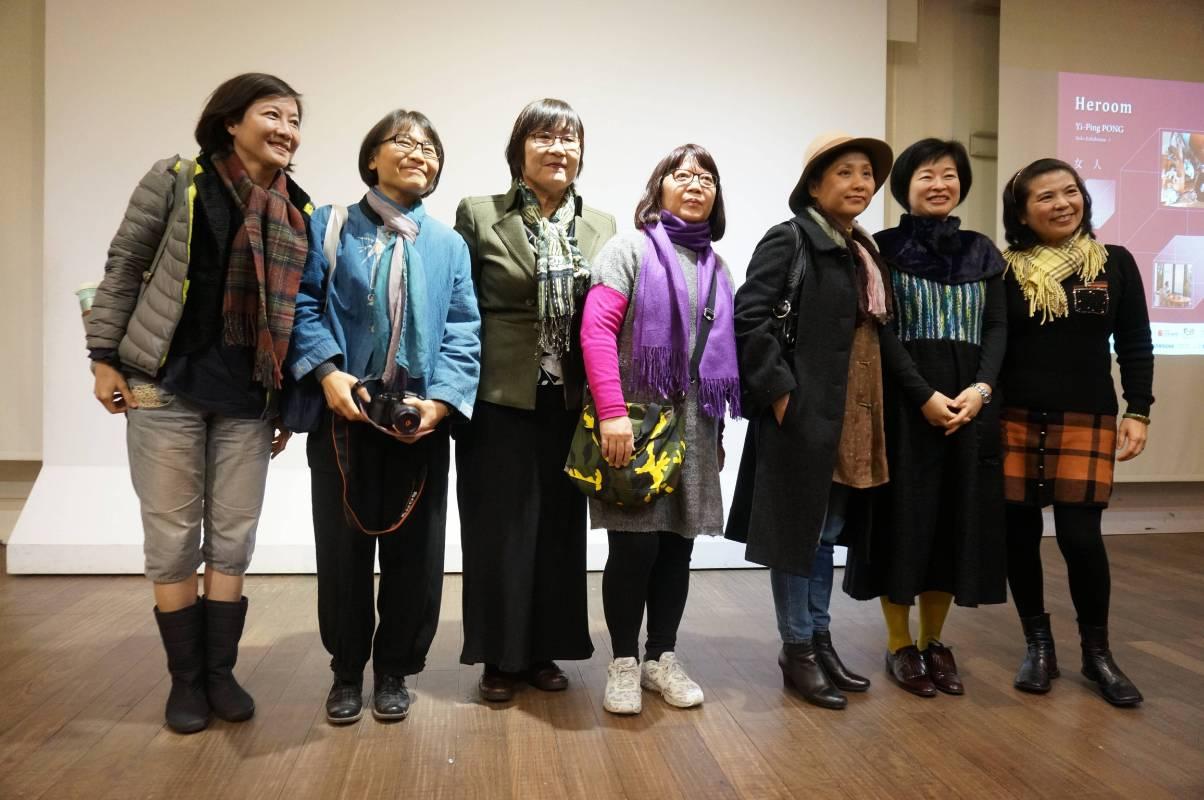 台灣的女人受訪者大合照
