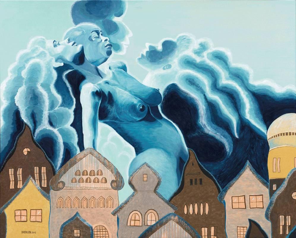 蕭耀,《藍色狂想曲》,2015。