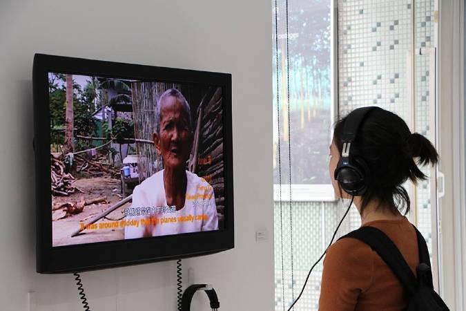 萬迪拉塔那《炸彈池塘》。圖/非池中藝術網攝。