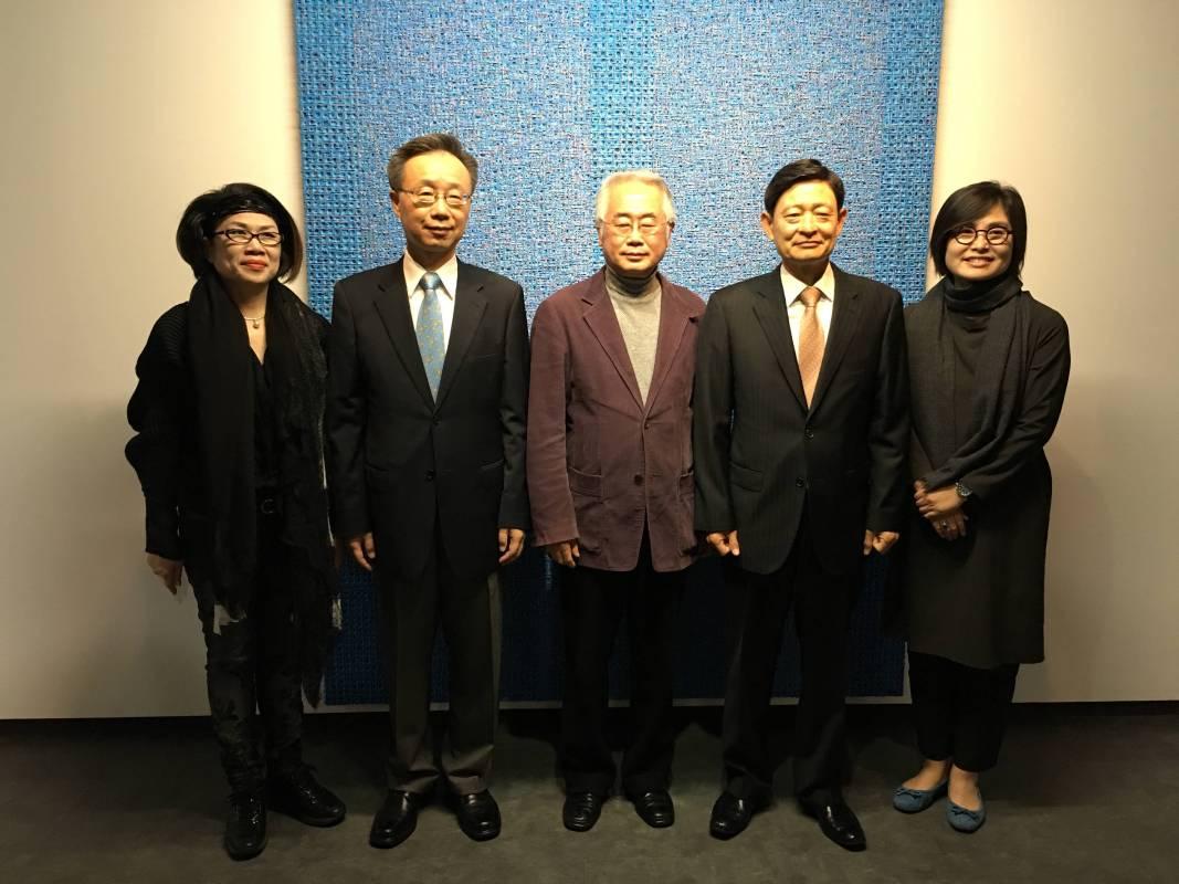 韓國大使趙百相參訪