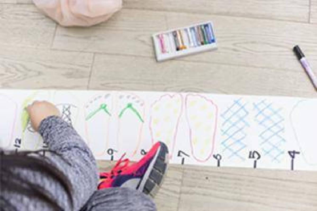 兒藝中心工作坊【身體的尺】©臺北市立美術館/攝影簡子鑫