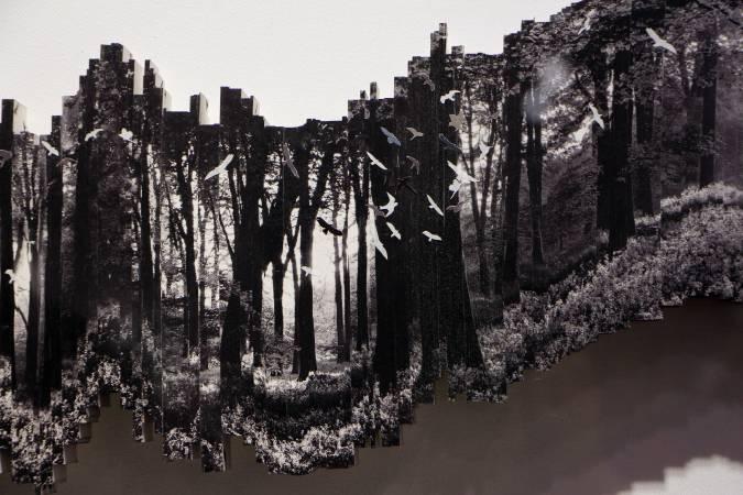 新加坡藝術家李綾瑄《Just A Moment III》。圖/非池中藝術網攝。