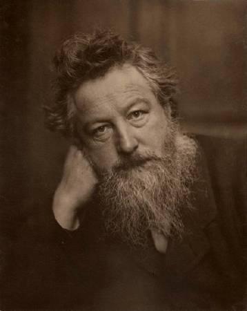 William Morris。圖/取自Wikipedia。
