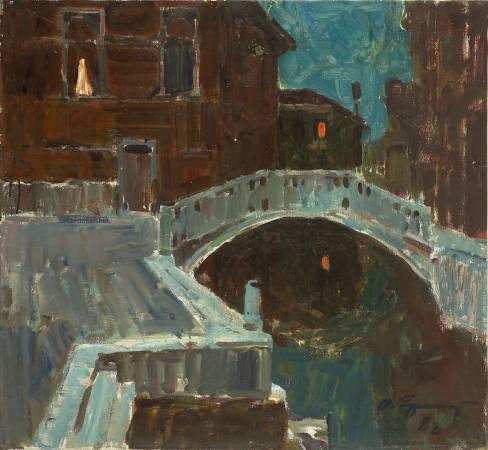 葉列梅耶夫,《威尼斯》,1982年。