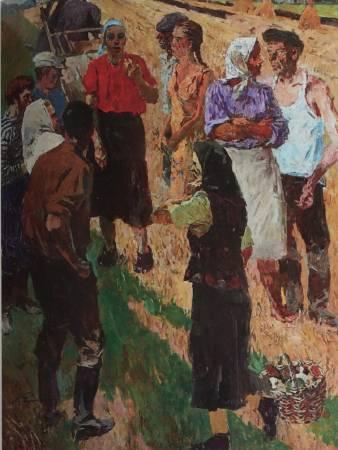 葉列梅耶夫,《關於農村》,1987-2010。