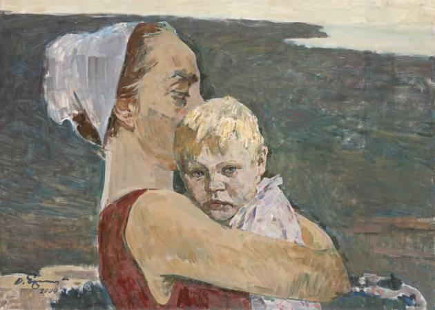 葉列梅耶夫,《世界的一角》,2000。