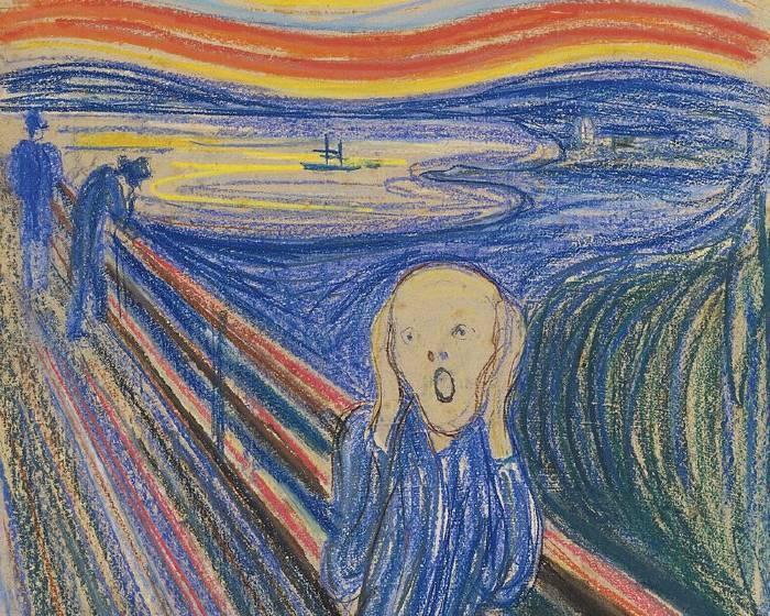 在紐約看《吶喊》  感受孟克的憂鬱與絕望