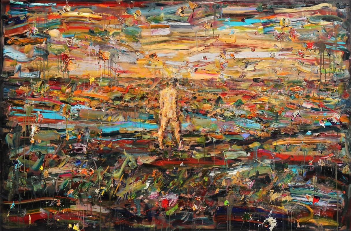 尋找地平線 178x270㎝ 2013 油彩畫布