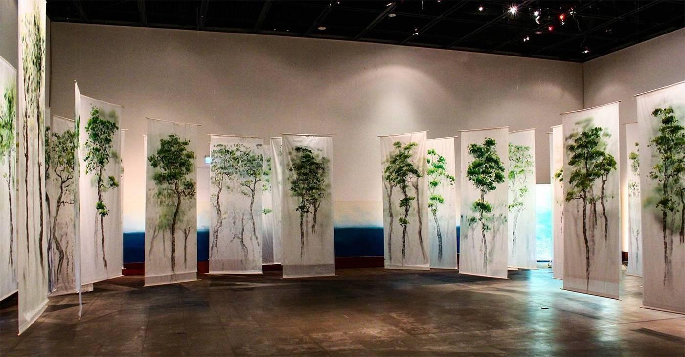 《我就是一棵樹—森林》2012  黃木各