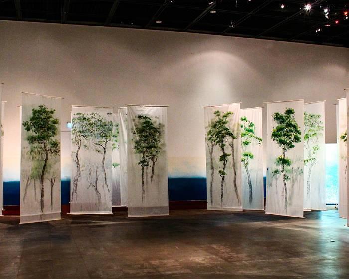樹火紀念紙博物館【靈感的一張兩面】紙料實驗教育展