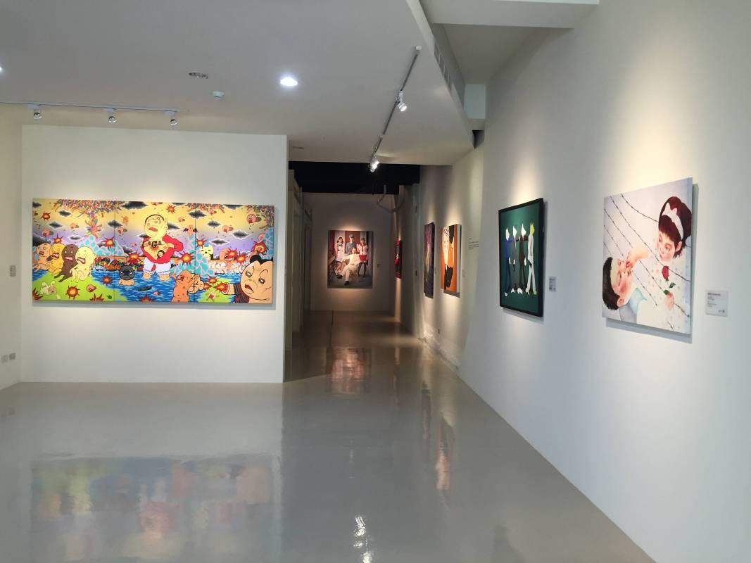 「人間‧鏡像-當代藝術中的人物創作」展覽空間