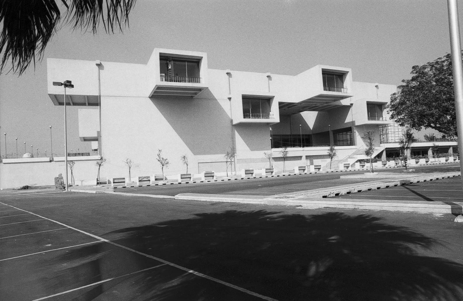 臺北市立美術館1983年創館館外場景